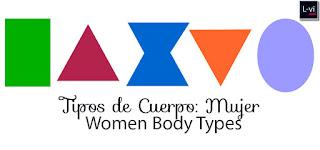 Body Types / Tipos de Cuerpo: Mujer  L-vi.com