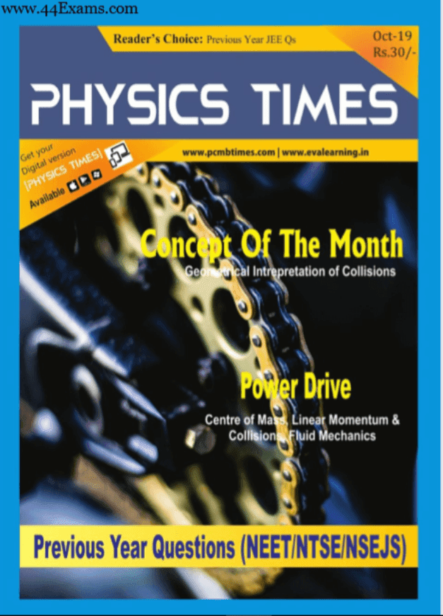 Physics-Times-Magazine-October-2019-For-JEE-Exam-PDF-Book