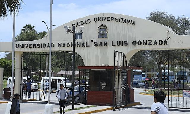 Minedu aprueba plan de ermergencia para Universidad Nacional San Luis Gonzaga de Ica