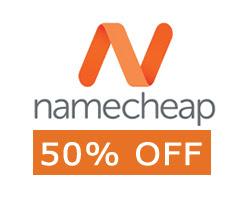 50% Discount of Namecheap Hosting, Web Hosting & Domain Name coupons, Free top level domain, namecheap domain coupons, namecheap hosting coupons