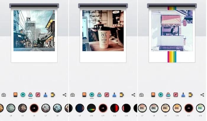Best Polaroid Photo Editing Apps LomoCam