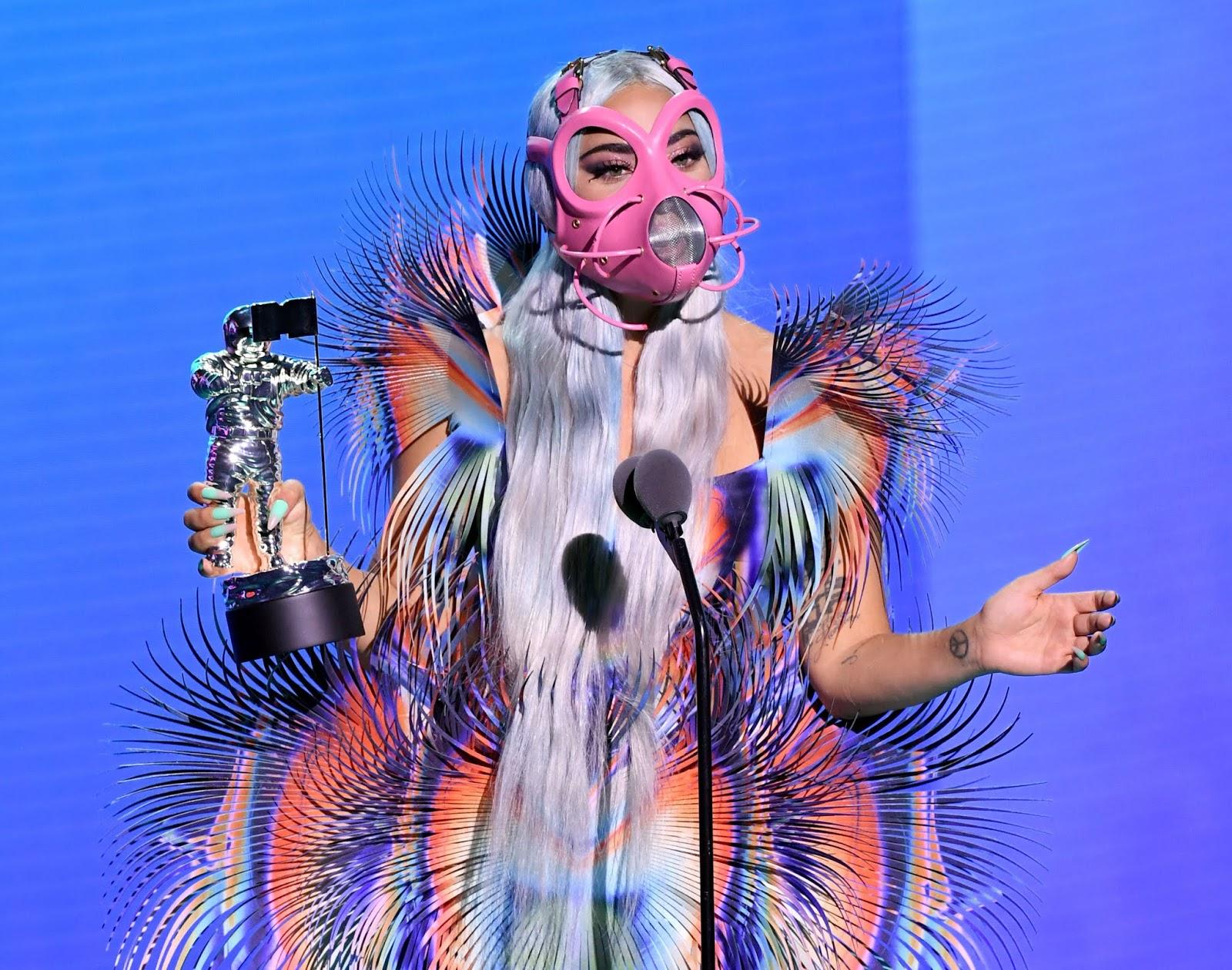Lady Gaga  is the first-ever #VMAs Tricon Award winner
