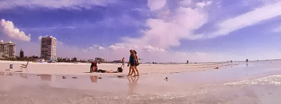 Strand am Siesta Key in Sarasota, Florida USA