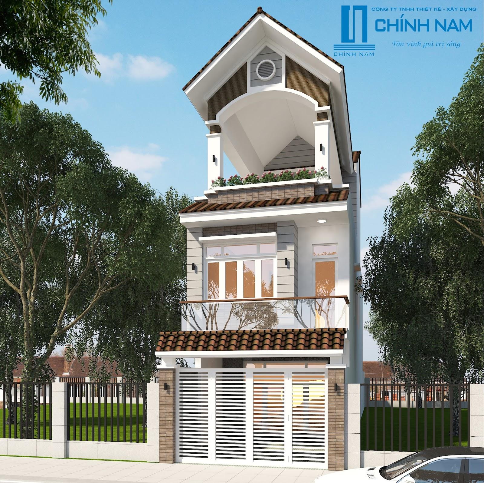 Thiết kế nhà anh Tuấn ở Biên Hòa - Đồng Nai