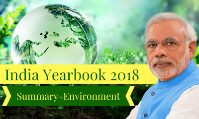 India Yearbook 2018 Summary- Environment