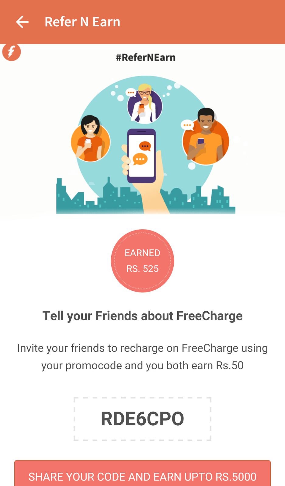 How to use freecharge coupons