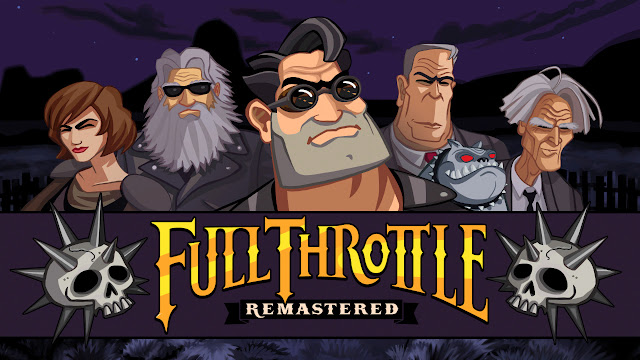 Full Throttle Remastered title screen