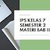 Rangkuman Materi IPS Kelas 7 Semester 2 Bab 3 Aktivitas Manusia Dalam Memenuhi Kebutuhan
