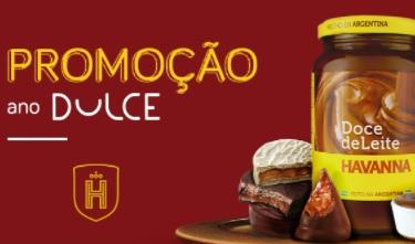 Cadastrar Promoção Havanna Natal 2020 Ano Dulce 1 Ano Kit de Produtos