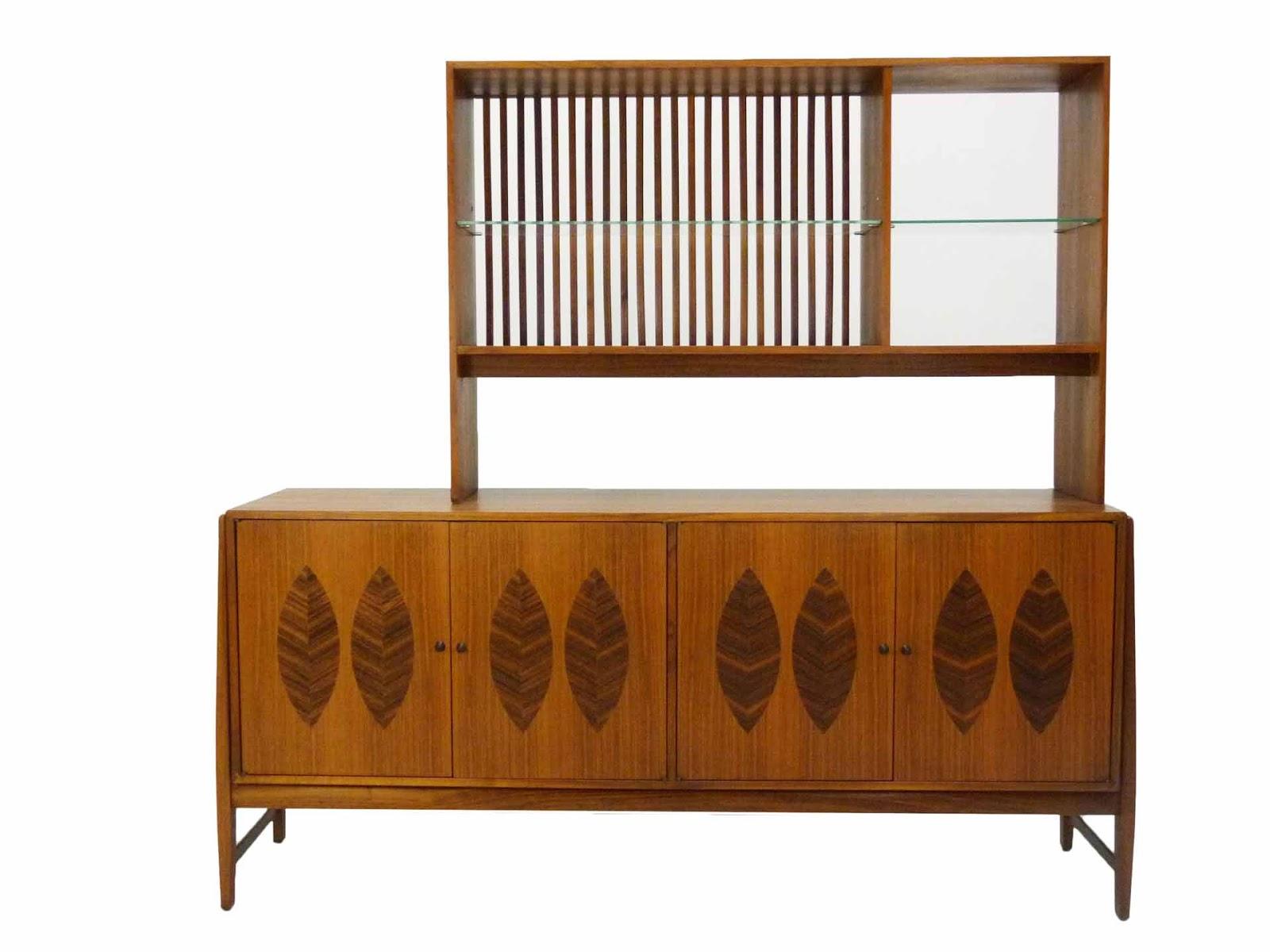 Kipp Stewart For Calvin Furniture Teak U0026 Rosewood Sideboard American Design  Foundation ...