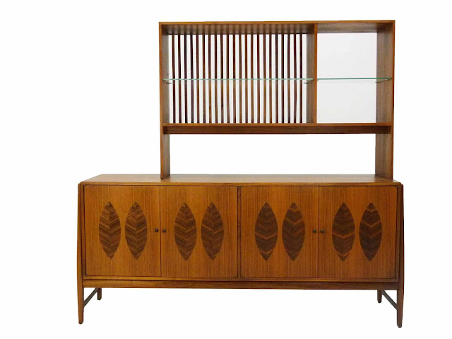 Kipp Stewart for Calvin Furniture Teak & Rosewood Sideboard American Design Foundation 3