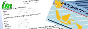 Surat Keterangan Biodata Penerima BSU jika ada perbedaan Nama/NIK dengan tertera di KTP