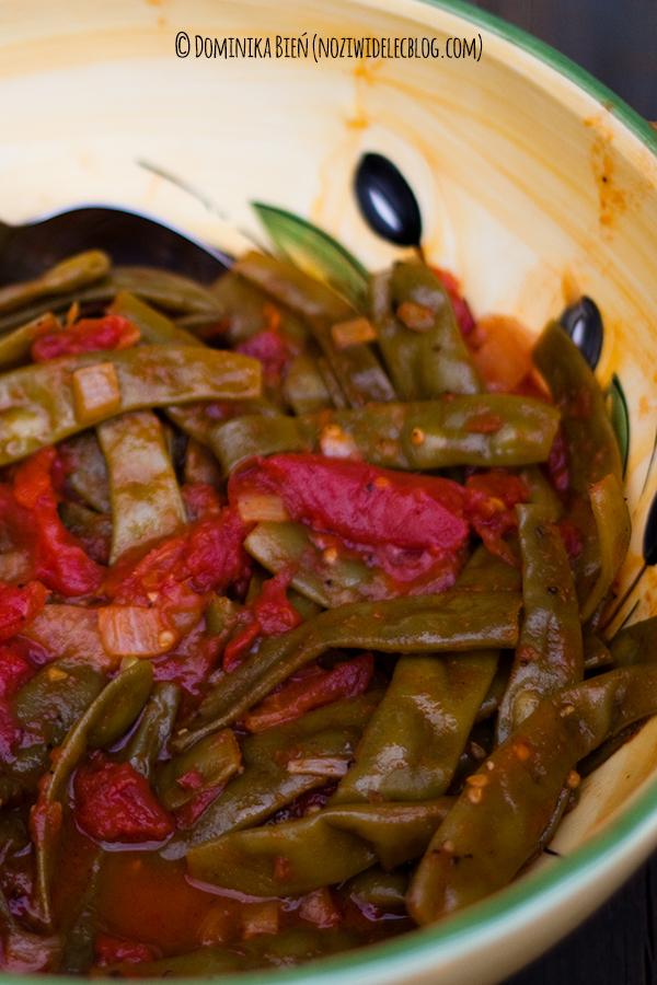 fasola, pomidory