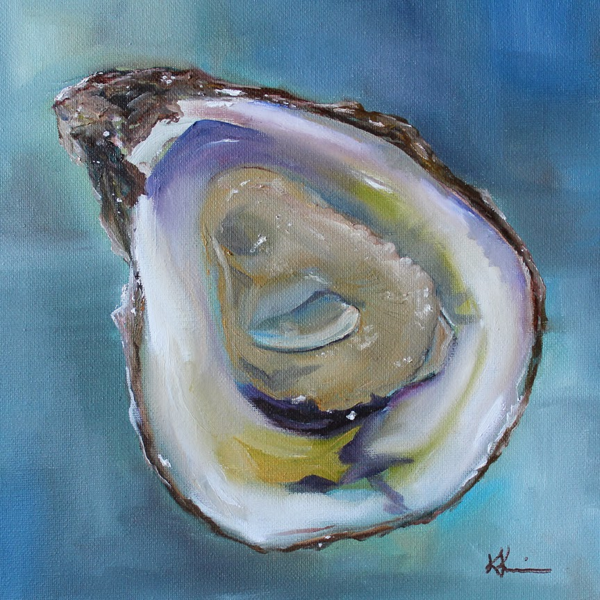 Artists Of Texas Contemporary Paintings and Art: Oyster on ...