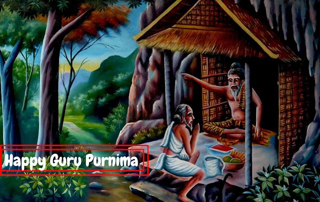 Lunar eclipse( Chandra garan) and Guru Purnima with Date and time...