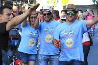 Bajada de cuadrillas de las fiestas de Llano