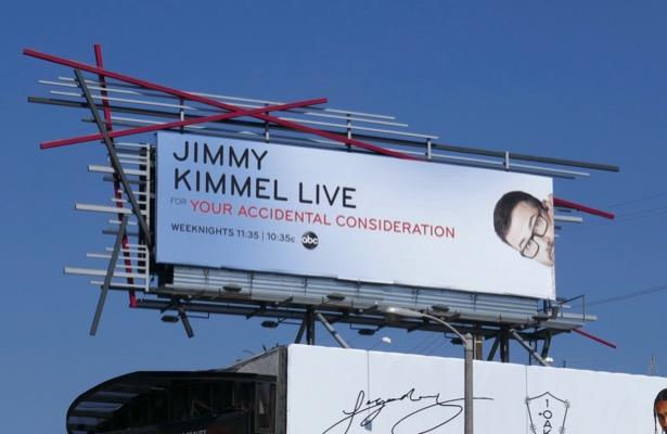 Jimmy Kimmel Live 2019 Emmy FYC billboard