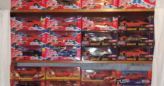 The Entire Line of Dukes of Hazzard 1/18 Diecast Cars - All 40 - Post 3 of 4: Authentics and JLs