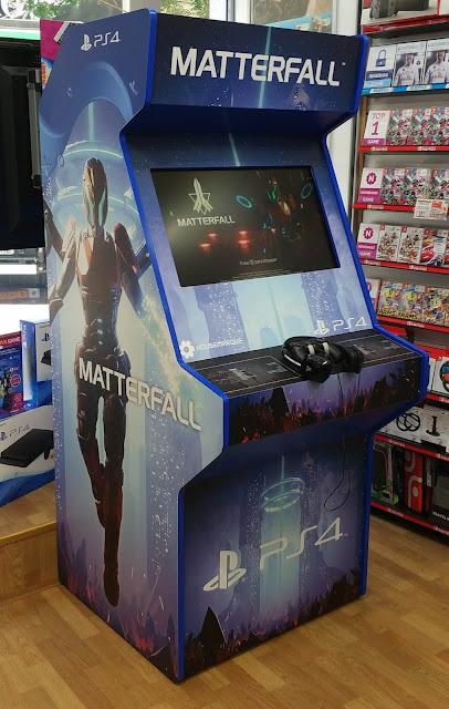 Consigue una máquina recreativa y una PS4 Pro en el torneo de Matterfall de PlayStation y GAME
