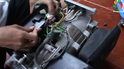 Generator Motor Yang Rusak