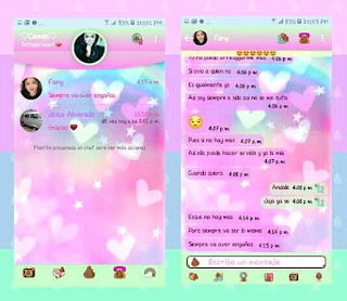 Loves Pink Theme For YOWhatsApp & Fouad WhatsApp By camila