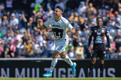 Con goles de debutantes, Pumas derrotó al Pachuca