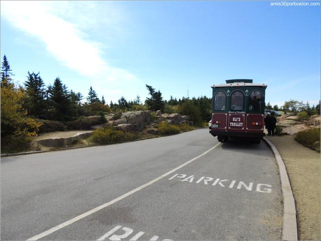 Park Loop Road del Parque Nacional Acadia en Maine