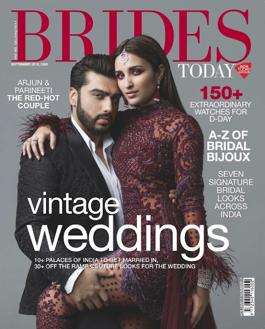 Parineeti and Arjun Sizzles on Bride Today September 2018 Issue