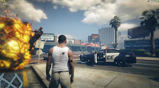 Grand Theft Auto V Gangstar