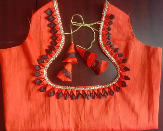 Latkan Blouse Designs