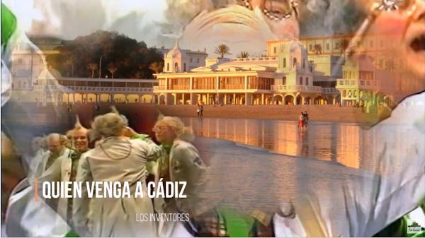 """💛💙Pasodoble """"Quien venga a Cádiz""""💛💙. Chirigota """"Los Inventores"""" (2002)"""