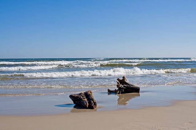 plaża Jastrzębia Góra, jak wygląda poza sezonem