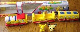 Tomy plarail Pokemon Train 2