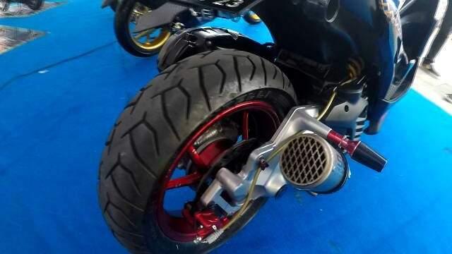 Yamaha Aerox Modifikasi Maxi Day Bali 2019