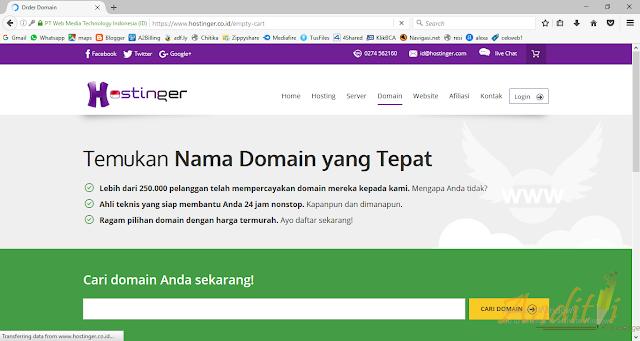 Cara Daftar IdHostinger-anditii.web.id