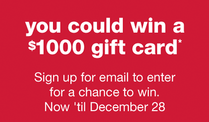 T.J.Maxx is celebrating this Holiday Season by giving visitors to their website and social media a chance to win $1000 T.J.Maxx shopping spree!