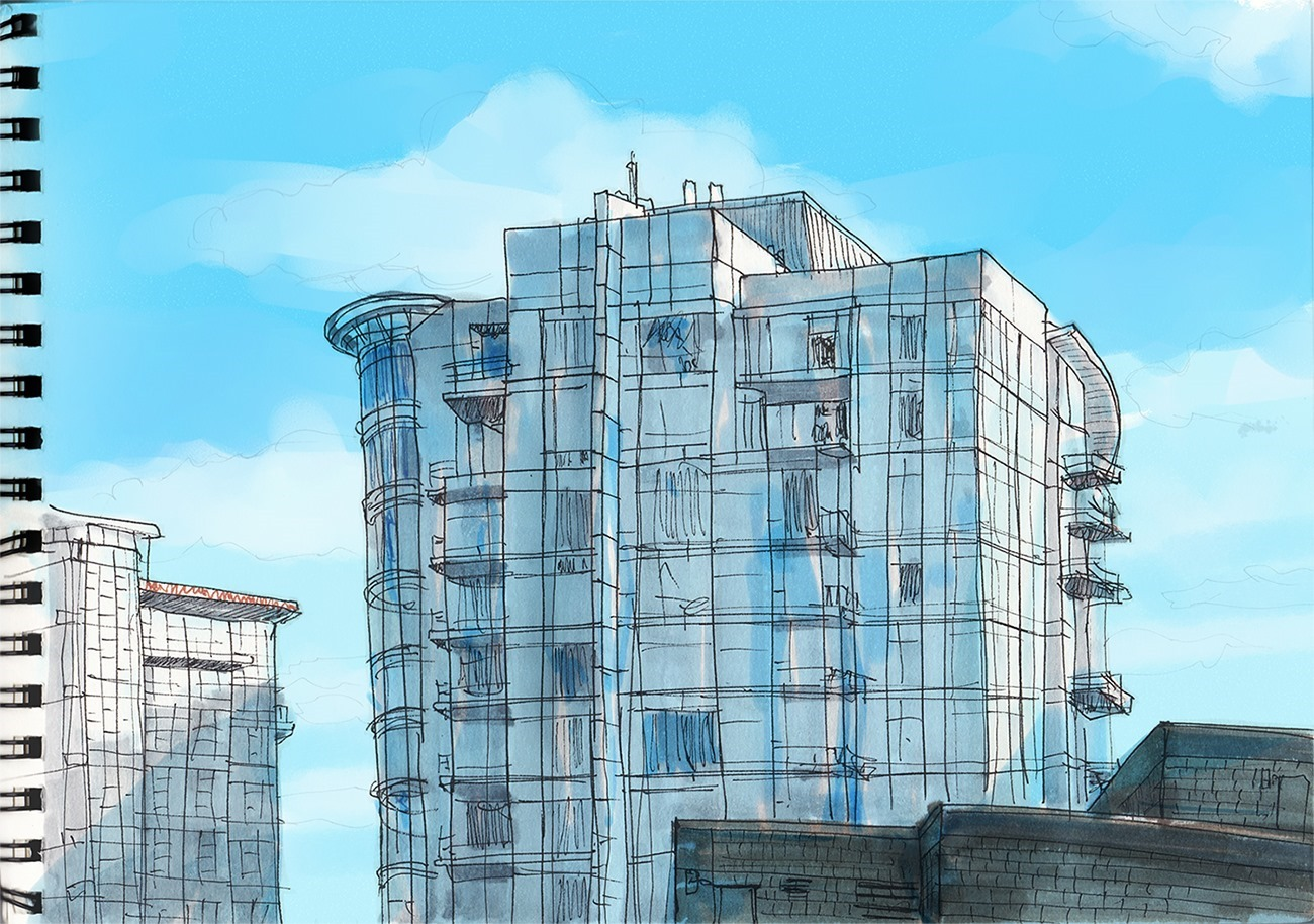 Frozen to the core: winter sketching around Vancouver | Urban Sketchers