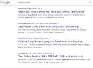 Jasa Agar Web Berada Di Halaman 1, Jasa Menaikan Web di Halaman Google Jasa Seo