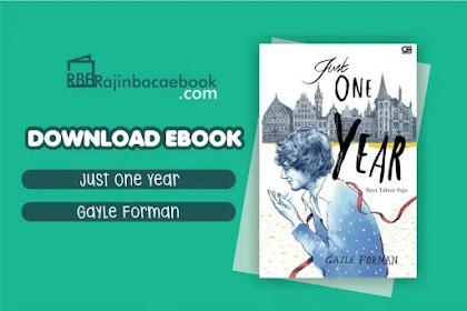 Download Novel Just One Year by Gayle Forman Pdf