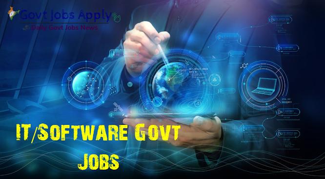 IT Software Latest Govt Jobs