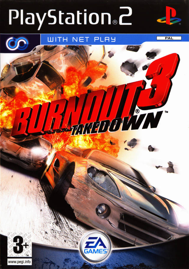 Burnout 3 Takedown PAL PS2
