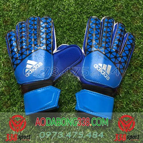 Găng Tay Thủ Môn Giá Rẻ Adidas Fingersave Competition Xanh Dương