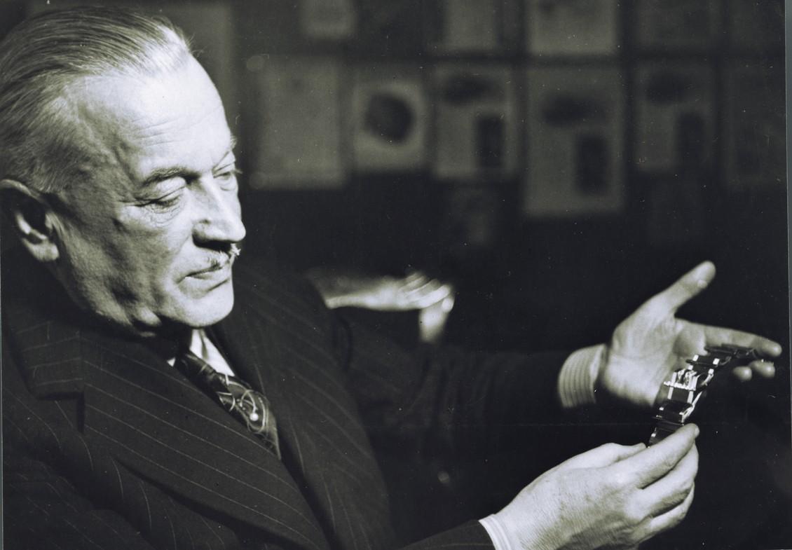 Image result for hans wilsdorf rolex