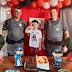 Polícia Militar de Pirassunuga realiza sonho de criança em festa de aniversário