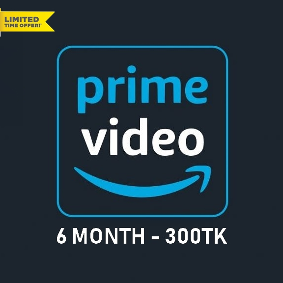 Buy 6 Month Prime Video for 300TK