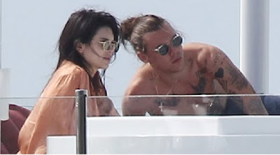 harry styles and kendall jenner vacation leaked photos