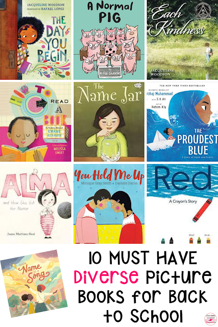 10 must have diverse picture books for back to school