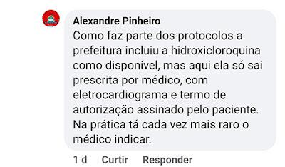 Secretário de Magno Bacelar, Alexandre Pinheiro afirma que exigências dificultam o acesso às medicações