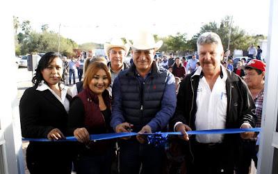 Inaugura alcalde de Huatbaampo centro comunitario en la comunidad de Navobaxia