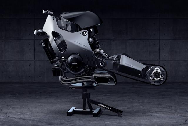 Gambar Konsep Superbike Masa Depan Yang Futuristik